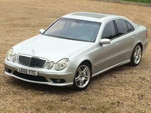 2003 Mercedes-Benz E55 AMG Kompressor 57k Miles EU car left  For Sale