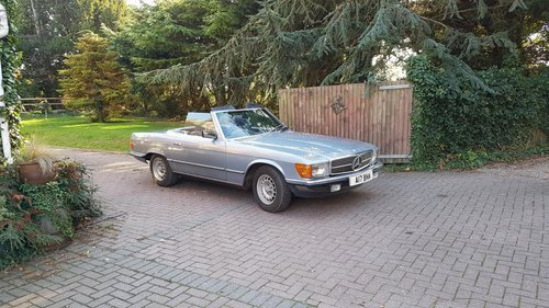 1984 Mercedes 280SL For Sale For Sale (picture 1 of 6)