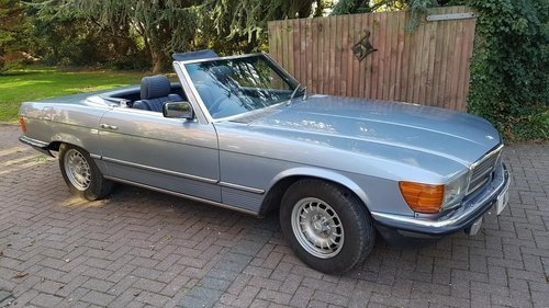 1984 Mercedes 280SL For Sale For Sale (picture 2 of 6)