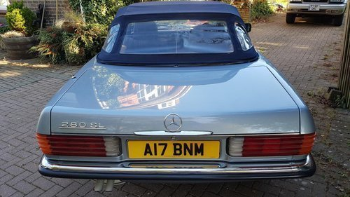 1984 Mercedes 280SL For Sale For Sale (picture 4 of 6)