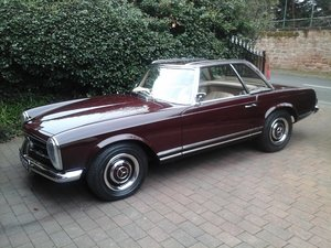 1966 Mercedes 230 SL Auto R.H.D Power Steering For Sale