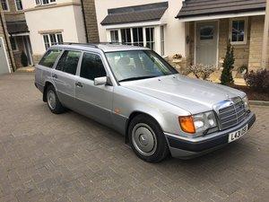 1993 W124 300D Estate One Private Owner Plus Dem SOLD
