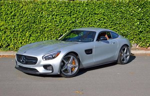 2017 Mercedes AMG GTS = Silver(~)Saddle low 688 miles  $119k For Sale