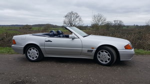 1993 Mercedes SL 320. 57000 Miles. 2 Owners. For Sale