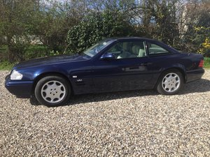 Mercedes Sl600 R129 1999 Rhd For Sale