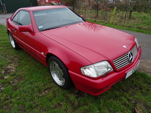 Mercedes SL60 AMG Roadster 6.0 Litre V8 – 1995N For Sale