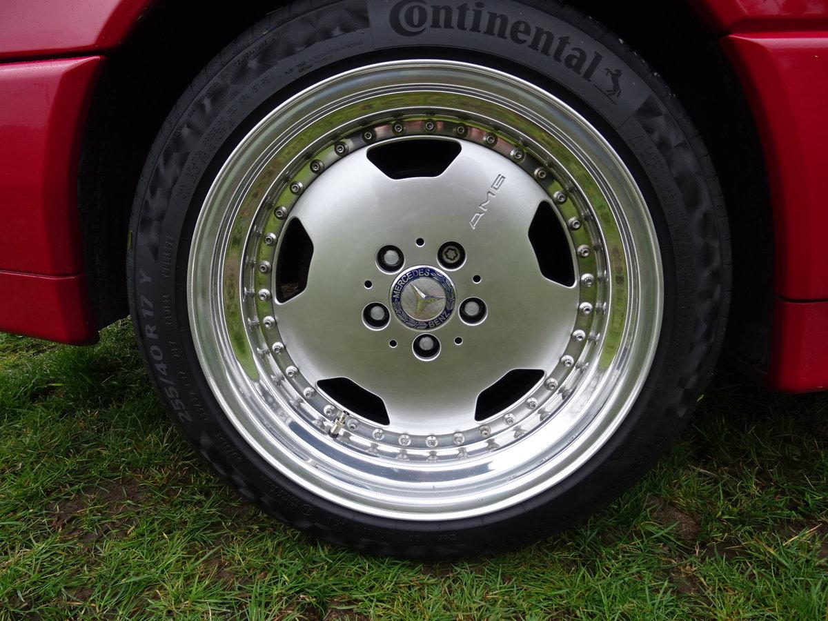 Mercedes SL60 AMG Roadster 6.0 Litre V8 – 1995N For Sale (picture 2 of 6)