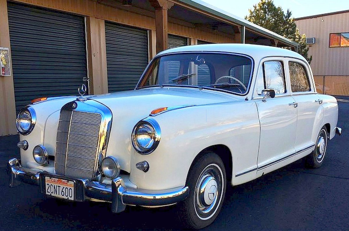 1957 Very RARE Executive Modell with orig. KM   For Sale (picture 1 of 6)