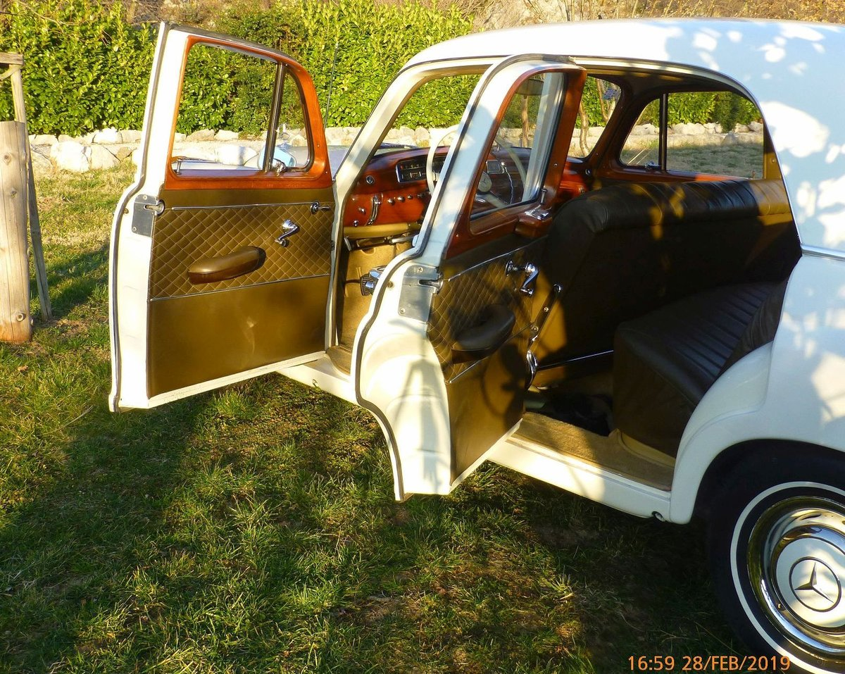 1957 Very RARE Executive Modell with orig. KM   For Sale (picture 3 of 6)