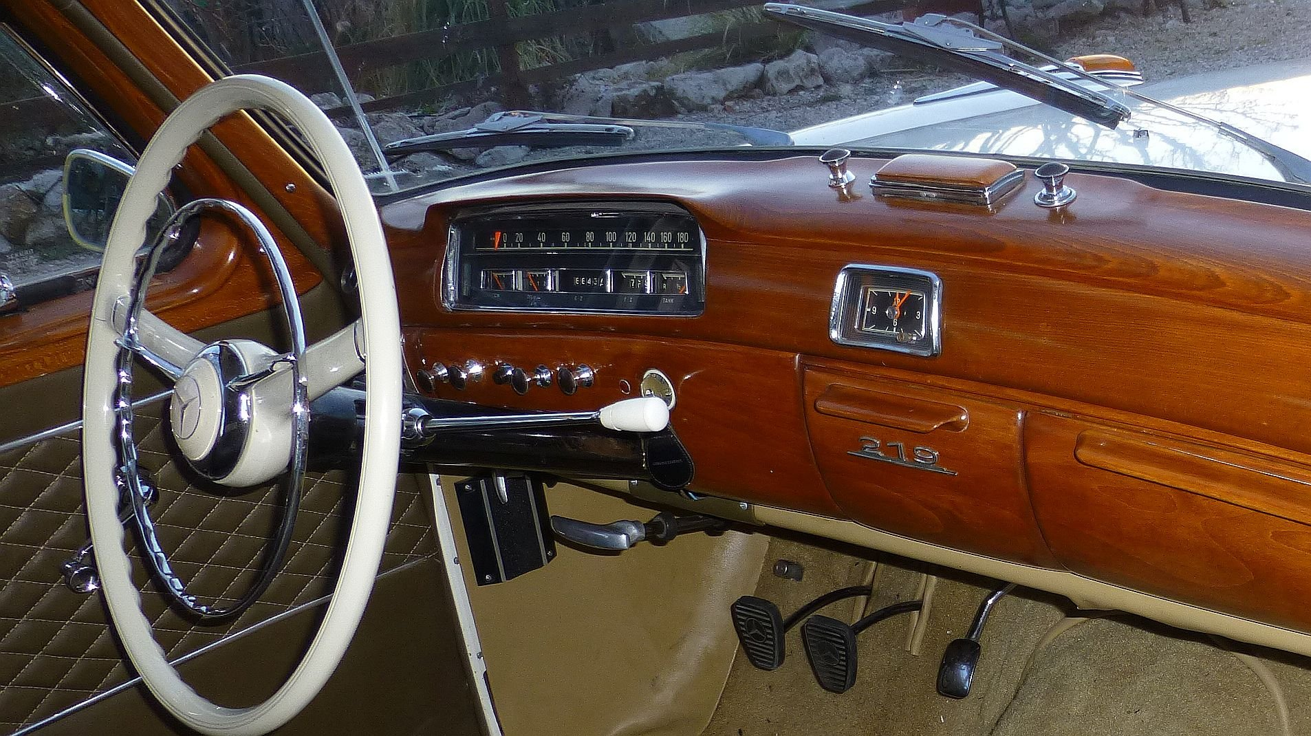 1957 Very RARE Executive Modell with orig. KM   For Sale (picture 4 of 6)