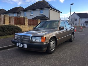 1991 Mercedes 190E at Morris Leslie Auction 17th August