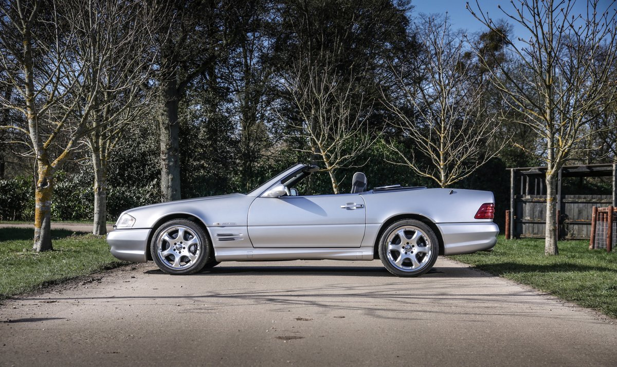 2002 Mercedes Benz SL500  For Sale (picture 3 of 6)