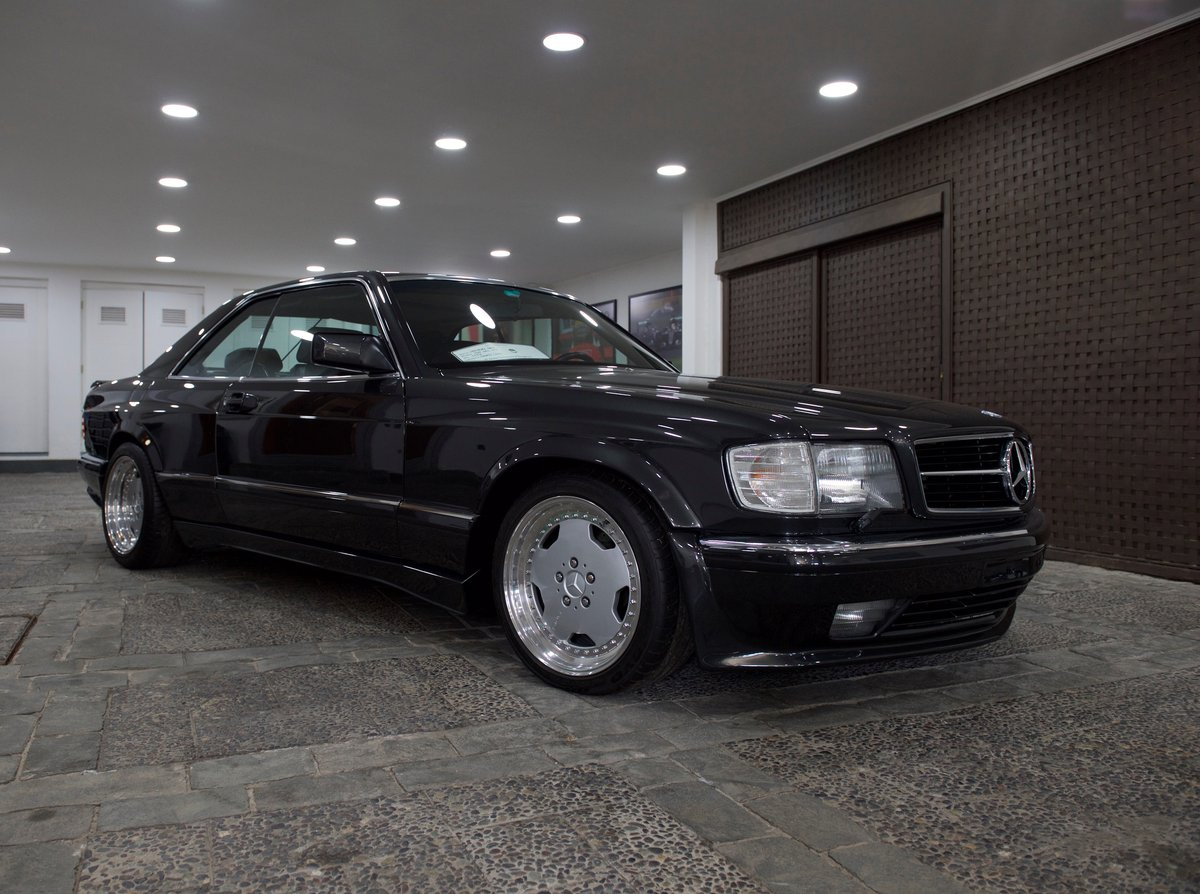1990 560SEC AMG 6.0 DOHC Widebody Museum/Concourse SOLD (picture 1 of 6)