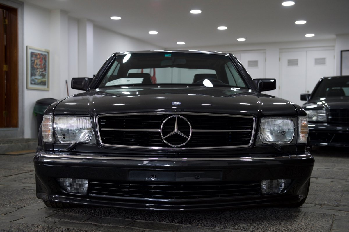 1990 560SEC AMG 6.0 DOHC Widebody Museum/Concourse For Sale (picture 2 of 6)