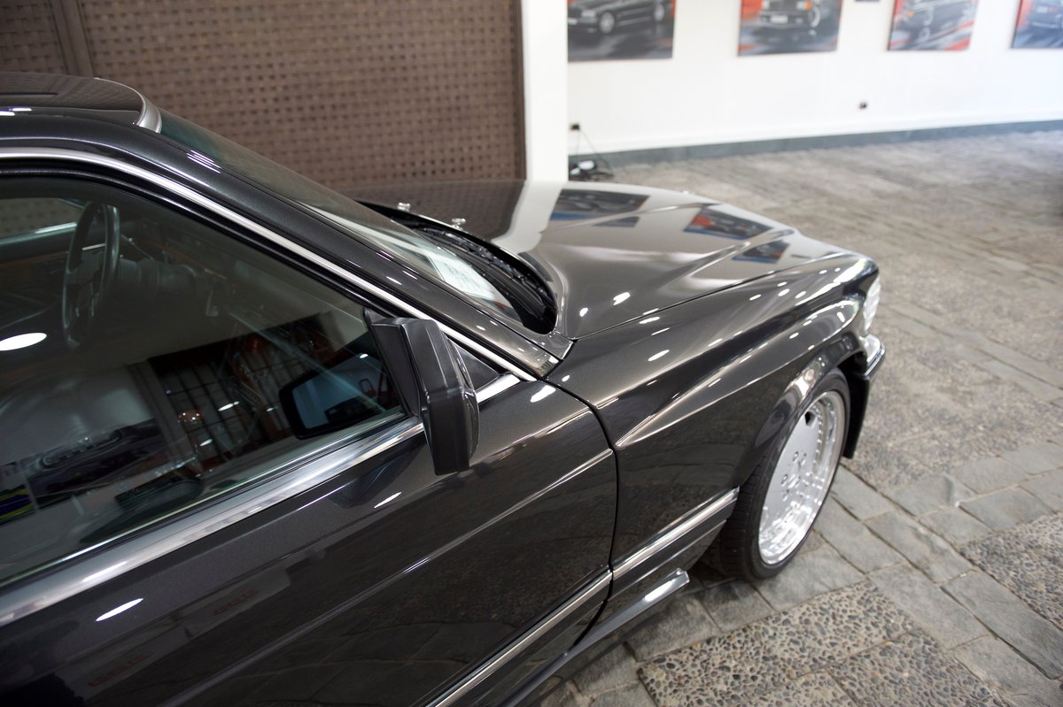 1990 560SEC AMG 6.0 DOHC Widebody Museum/Concourse For Sale (picture 3 of 6)