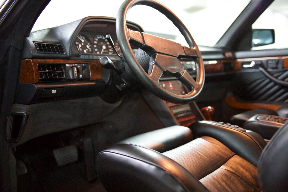 1990 560SEC AMG 6.0 DOHC Widebody Museum/Concourse For Sale (picture 6 of 6)