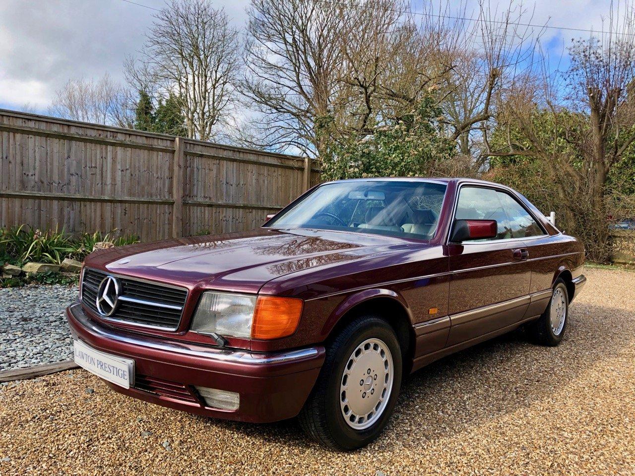 1988- Mercedes 420SEC C126 *SOLD-MORE REQD* 560SEC 500 SEC For Sale (picture 1 of 6)