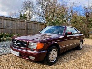 1988- Mercedes 420SEC C126 *SOLD-MORE REQD* 560SEC 500 SEC