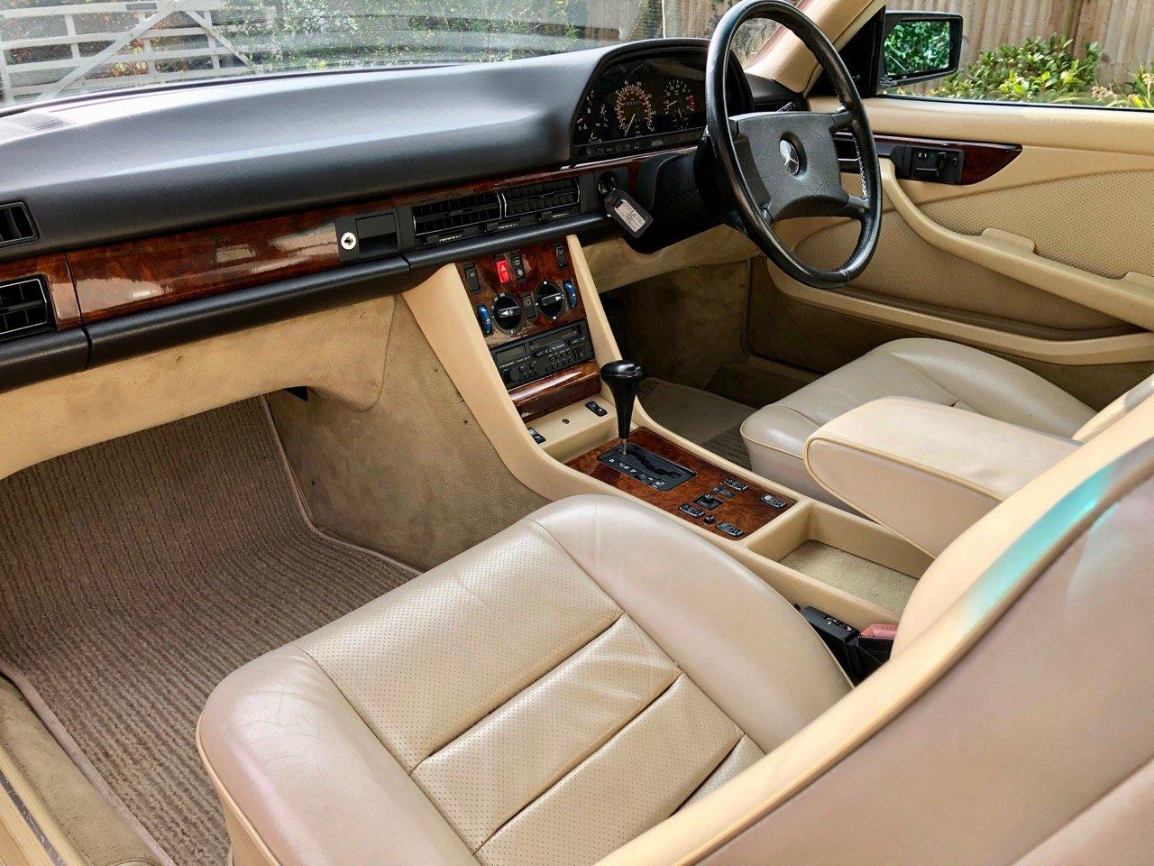 1988- Mercedes 420SEC C126 *SOLD-MORE REQD* 560SEC 500 SEC For Sale (picture 4 of 6)