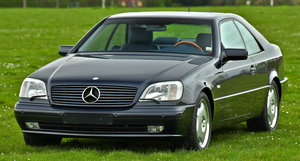 1998 Mercedes-Benz CL500 Sunroof Coupé For Sale