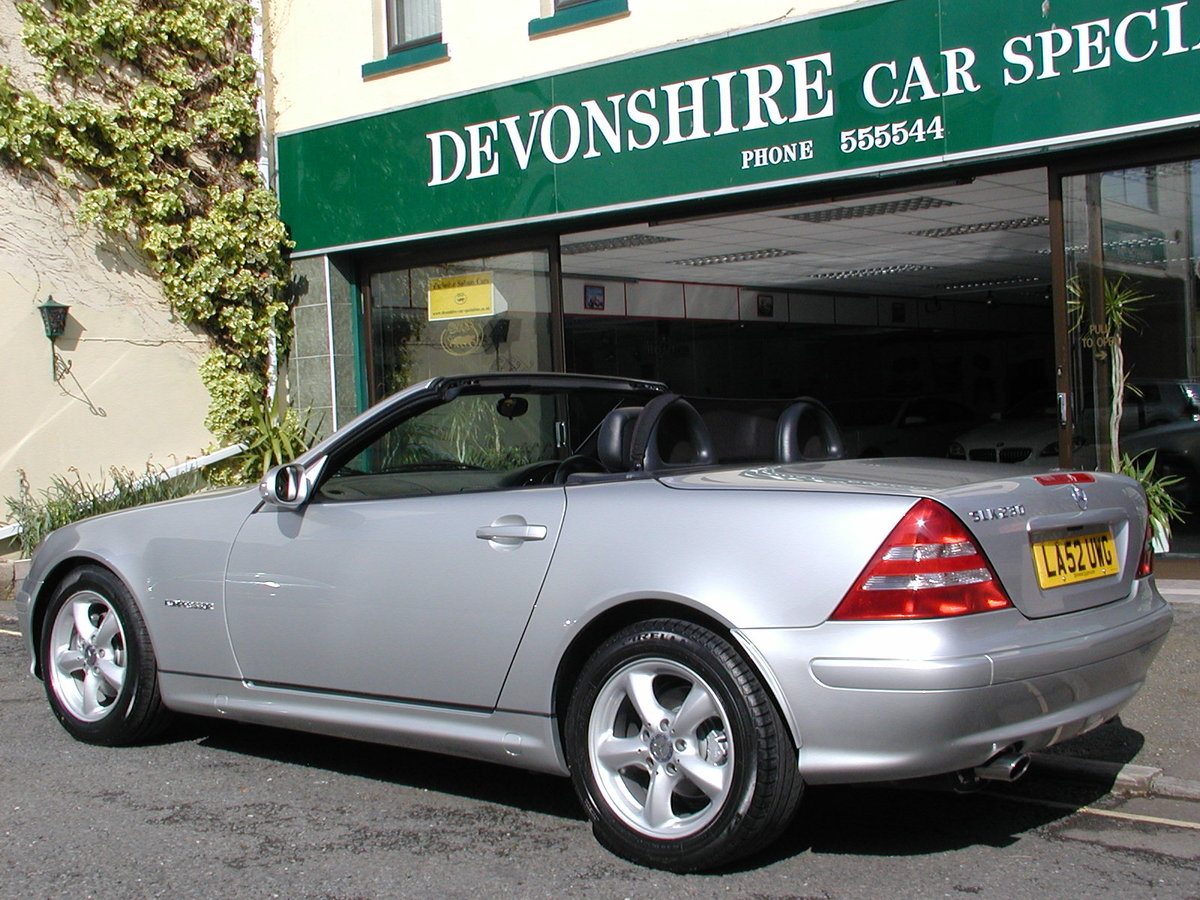 2002 Mercedes Benz Slk230 Kompressor Car Now Sold Sold Car And