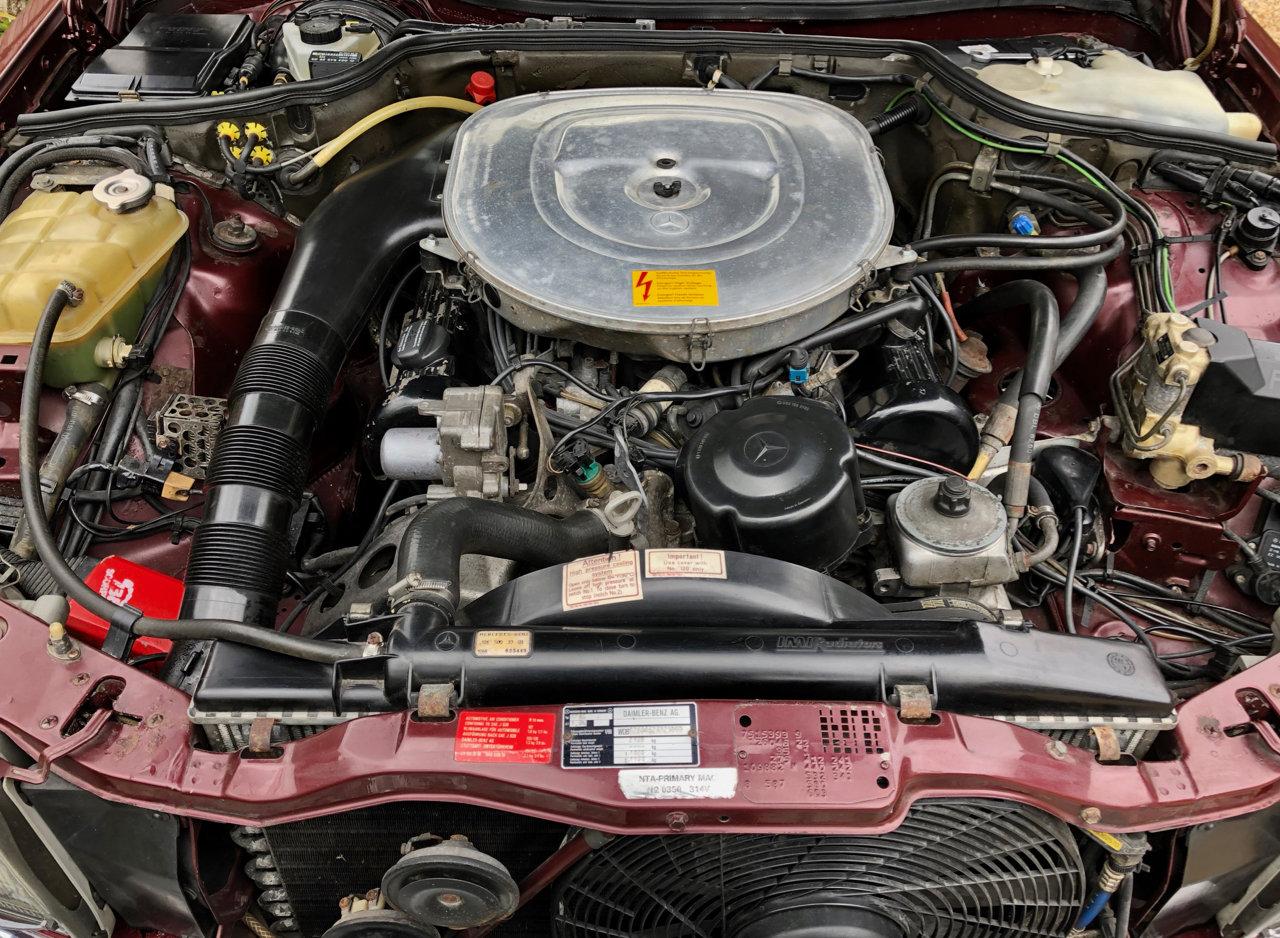 1988- Mercedes 420SEC C126 *SOLD-MORE REQD* 560SEC 500 SEC For Sale (picture 6 of 6)