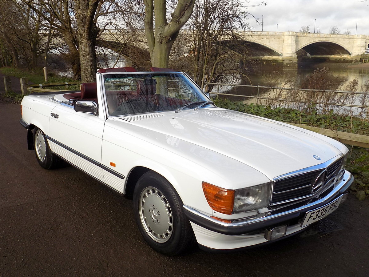 1989 MERCEDES BENZ 300SL (R107 Series) SPORTS CONVERTIBLE SOLD (picture 6 of 6)