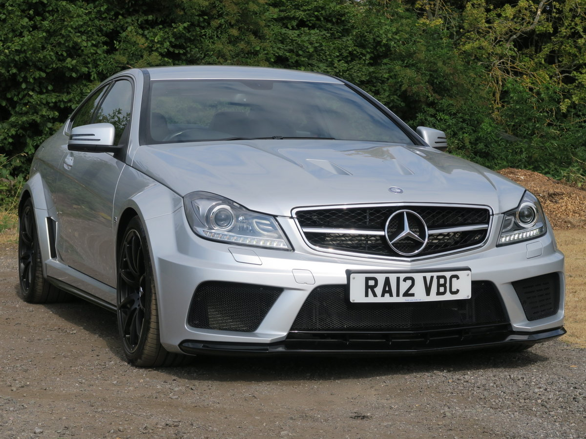 2012 Mercedes-Benz C63 AMG Black Series For Sale (picture 1 of 6)