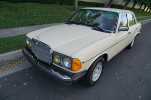1983 Mercedes 300D Turbo Diesel with 43K orig miles SOLD