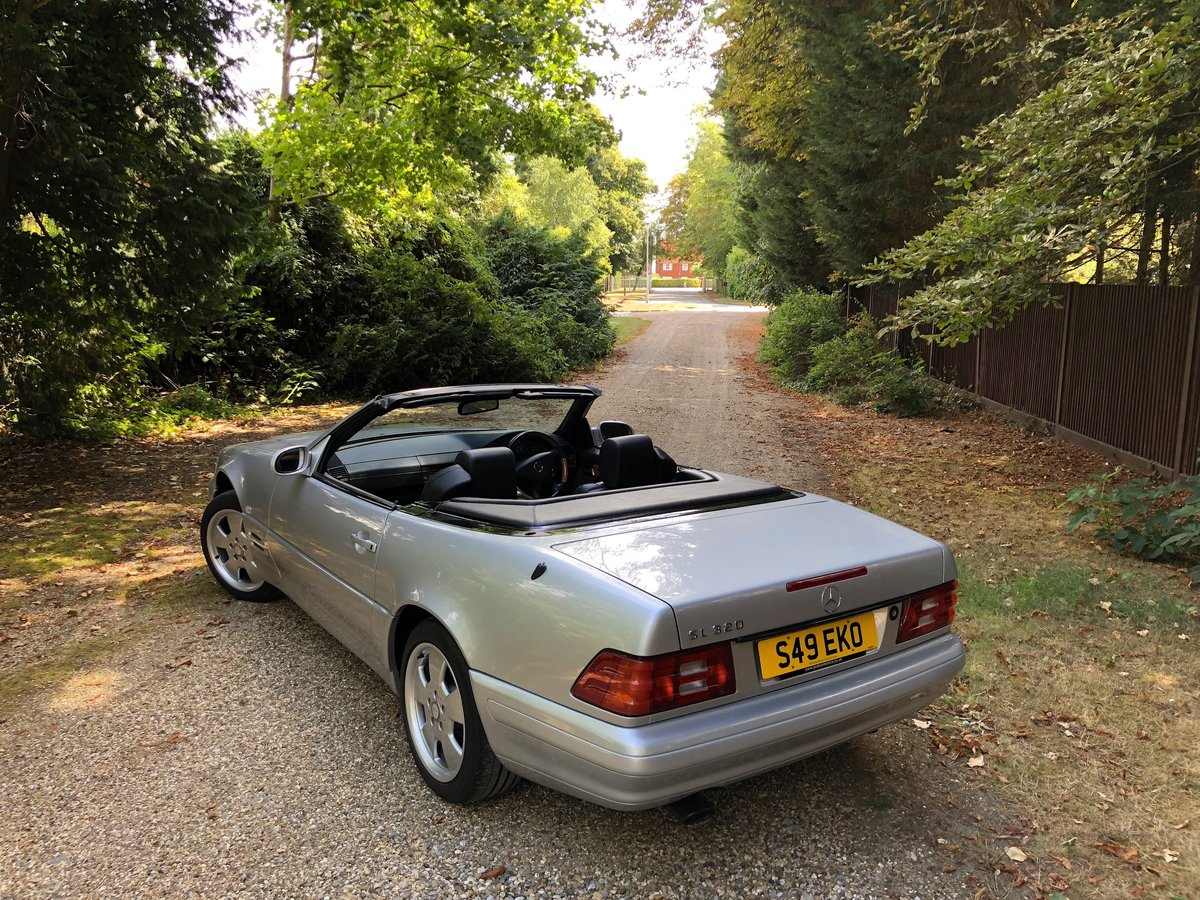 1998 Mercedes SL320 R129 - 43,000 MILES For Sale (picture 1 of 6)