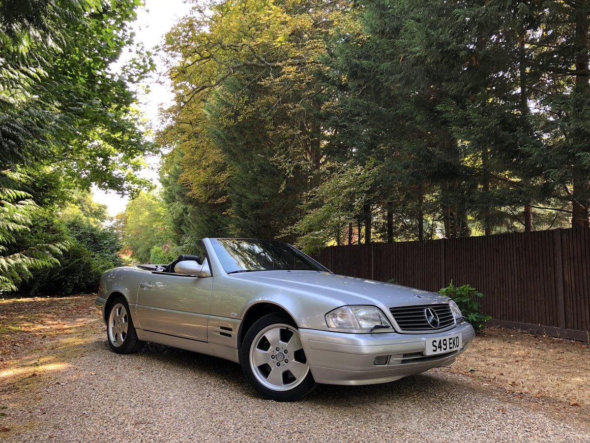 1998 Mercedes SL320 R129 - 43,000 MILES For Sale (picture 2 of 6)