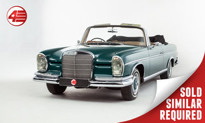 1964 Mercedes W112 300 SE Cabriolet /// Rare UK-supplied RHD SOLD