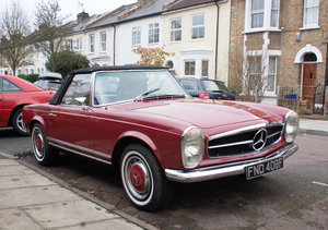 1969 Mercedes 280SL W113 Pagoda LHD For Sale