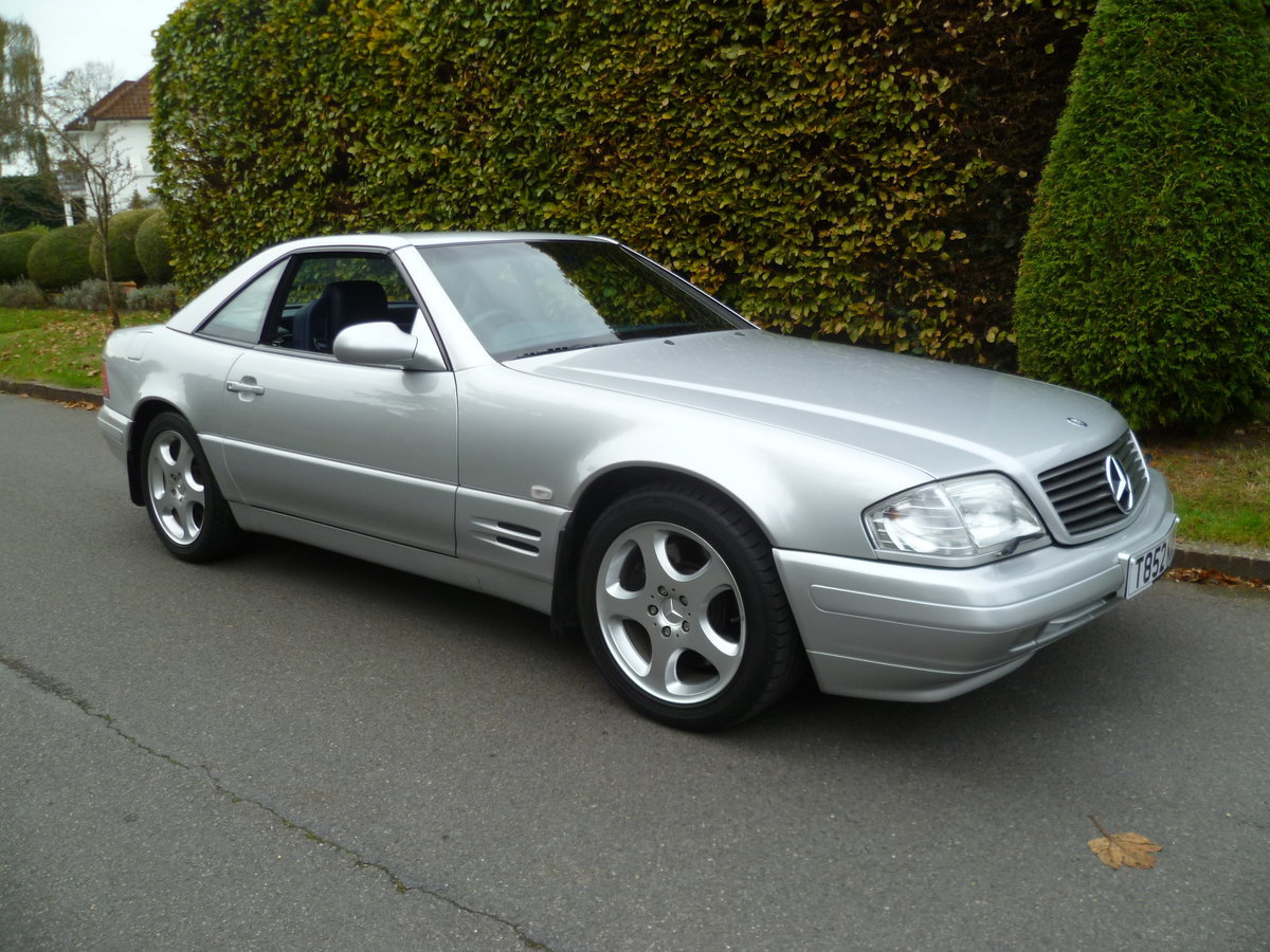 1999 MERCEDES-BENZ SL320 V6 (R129)  47,000 miles only For Sale (picture 1 of 6)
