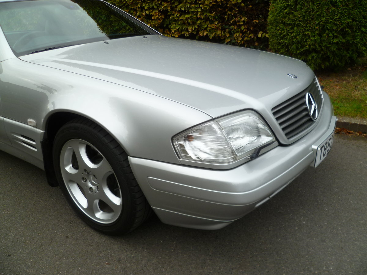1999 MERCEDES-BENZ SL320 V6 (R129)  47,000 miles only For Sale (picture 2 of 6)