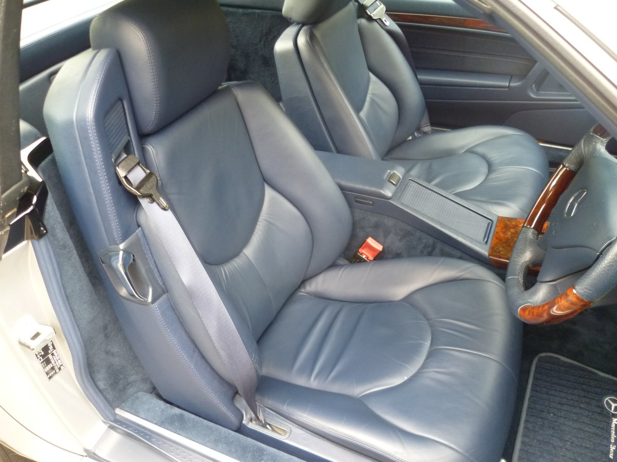 1999 MERCEDES-BENZ SL320 V6 (R129)  47,000 miles only For Sale (picture 4 of 6)