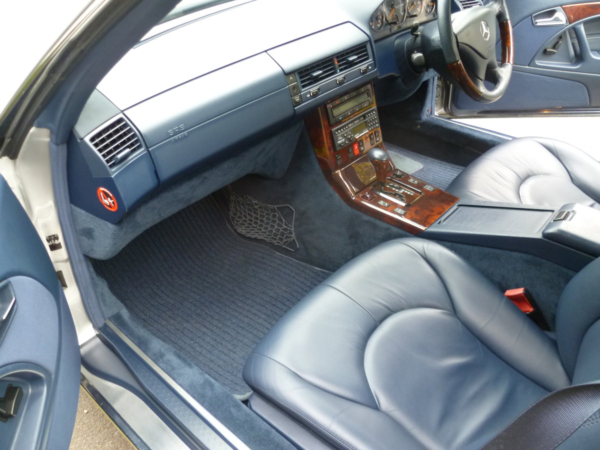 1999 MERCEDES-BENZ SL320 V6 (R129)  47,000 miles only For Sale (picture 6 of 6)