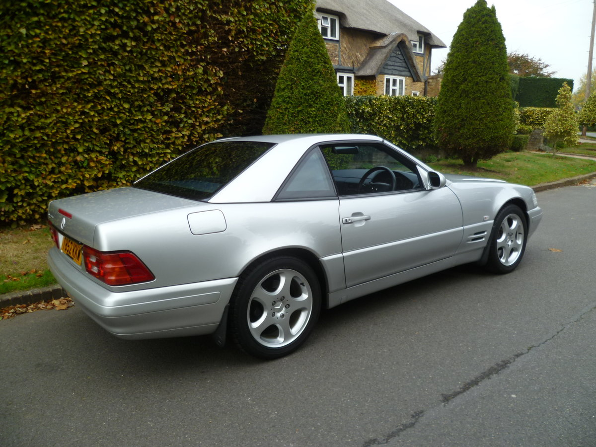 1999 MERCEDES-BENZ SL320 V6 (R129)  47,000 miles only For Sale (picture 3 of 6)