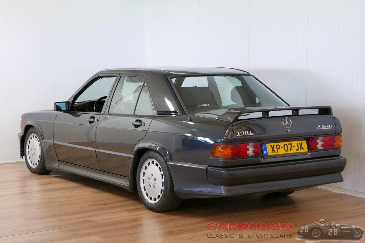 1988 Mercedes Benz 190E 2.3 16 in zeer goede conditie For Sale (picture 2 of 6)