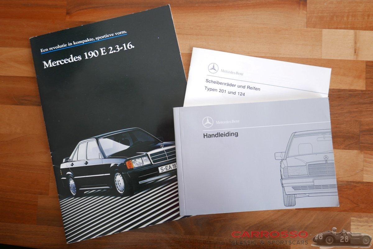 1988 Mercedes Benz 190E 2.3 16 in zeer goede conditie For Sale (picture 5 of 6)