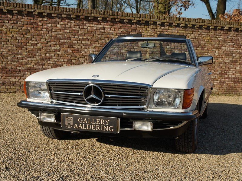 1985 Mercedes Benz 280SL W107 manual 5-speed! only 111.968 km, Ge For Sale (picture 5 of 6)