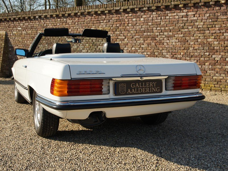 1985 Mercedes Benz 280SL W107 manual 5-speed! only 111.968 km, Ge For Sale (picture 6 of 6)