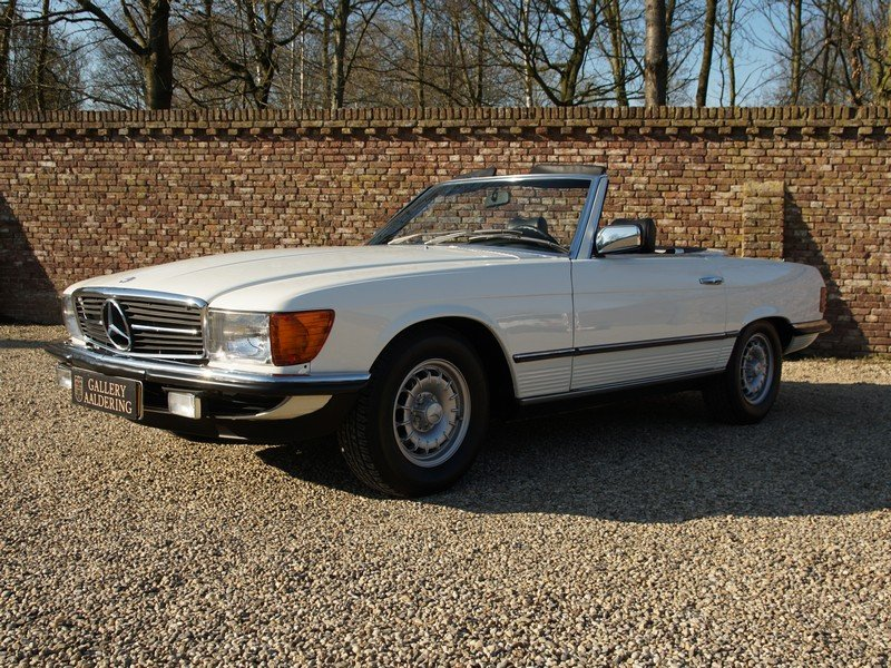 1985 Mercedes Benz 280SL W107 manual 5-speed! only 111.968 km, Ge For Sale (picture 1 of 6)