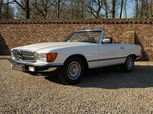 1985 Mercedes Benz 280SL W107 manual 5-speed! only 111.968 km, Ge For Sale