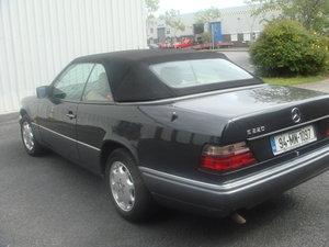 1994 Mercedes Benz E220 Cabriolet For Sale