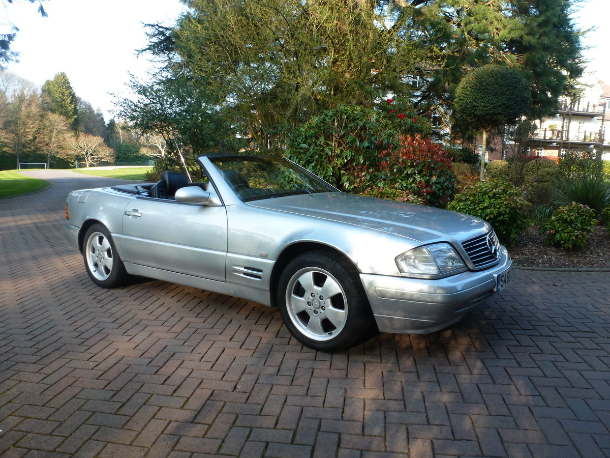 1998 Beautiful low mileage SL280 For Sale (picture 6 of 6)