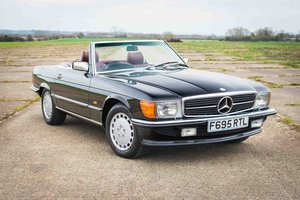 1988 Mercedes-Benz R107 300SL - 44k Miles - FSH (24 Stamps) For Sale