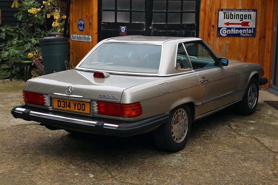 1987 Mercedes R107 560sl in beautiful condition. For Sale (picture 6 of 6)