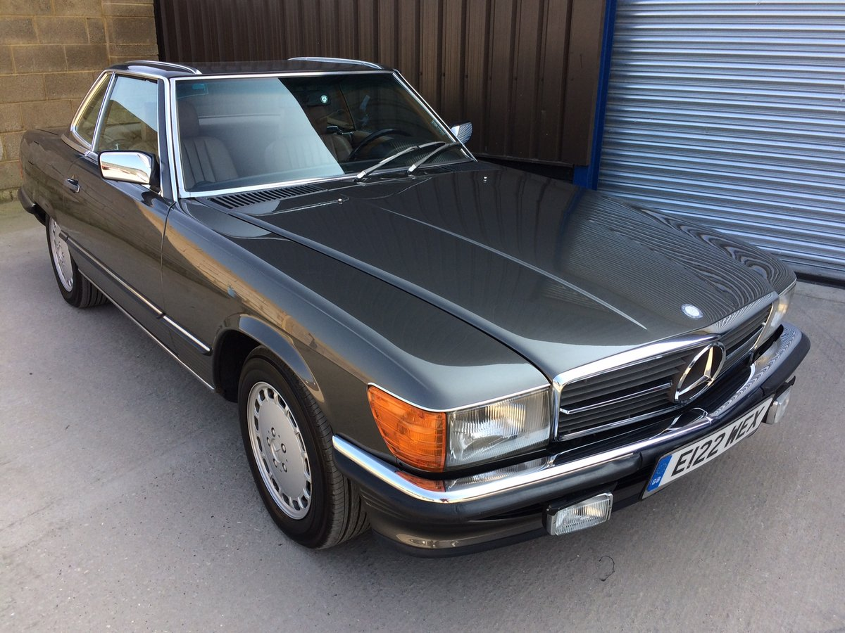 1987 Mercedes-Benz 560SL 560 SL 49k Miles FSH Immaculate LHD For Sale (picture 1 of 6)