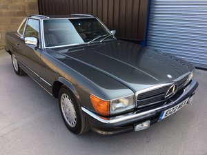 1987 Mercedes-Benz 560SL 560 SL 49k Miles FSH Immaculate LHD For Sale